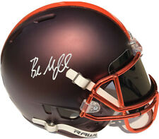 Browns #6 BAKER MAYFIELD Signed Autographed AUTHENTIC Blaze Football Helmet BAS