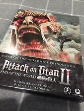 Attack On Titan 2 II Blu Ray Steelbook