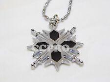 Anime Vampire Knight Kiryu Zero mark metal necklace/pendant blcak & silver color