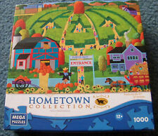 PUMPKIN MAZE Farm Jigsaw Puzzle Hometown Collection 1000 pc COMPLETE 09200ANN