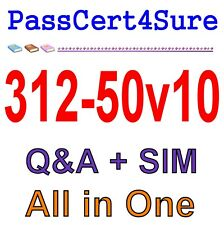 EC-Council Certified Ethical Hacker v10  CEH v10 312-50v10 Exam Q&A PDF+SIM