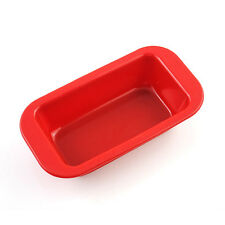 Food-Grade Silicone Loaf Square Bar Bread Cake Mold Baking Pan  2.44*4.33 inch