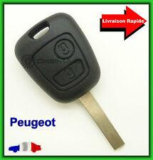 Coque Télécommande Plip Clé Pour Peugeot 106 206 306 407 + Lame vierge
