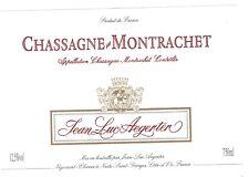 Etiquette de vin - CHASSAGNE MONTRACHET
