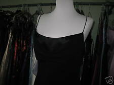 DEBUT/DEBENHAMS BLACK COWL NECK COCKTAIL/EVENING/CRUISE/MAXI GOWN/DRESS 10/8
