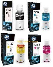New Original HP GT51 GT52 4 Color Set Ink Bottle For HP DeskJet GT 5820 5810