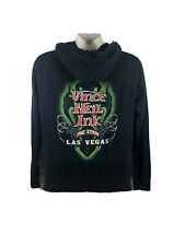 Vince Neil Ink tattoo Las Vegas Strip Motley Crue sz L hoodie sweatshirt black