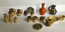 More details for superb antique doulton stoneware sub-miniature ginger beer bottles tankards etc