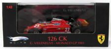 Voitures Formule 1 miniatures blancs Hot Wheels 1:43