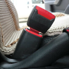 2Pcs Car Safety Seat Belt Buckle Extension Extender Clip Alarm Stopper Accessory