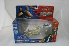 American Choppers Gold Fire Bike  Limited Edition Chase Bike 1-18
