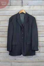 Cappotti e giacche da uomo in lana grigia con colletto