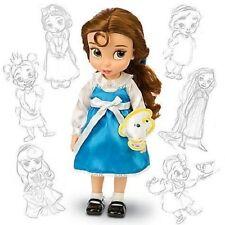 NEUF Disney Store Princesse Belle animator Collection Poupée 38 cm Tall Robe Bleu