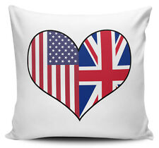 Personalised Long Distance Relationship Love Novelty Cushion Cover