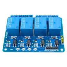 Modulo Rele 5V 10A de 4 Canales para Arduino ARM PIC AVR DSP Relay Raspberry Pi