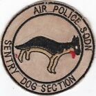 USAF Air Police Squadron K-9 Sentry Dog Section K-9 Patch .#7