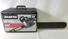 """Black Max Bm3818 18"""" 38cc 2-Cycle Chainsaw"""