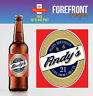 Personalised Beer/Lager Spoof bottle labels -  PERFECT MOTHER'S DAY GIFT/PRESENT
