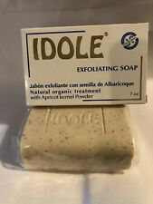 Idole Exfoliating Soap with Apricot kernel Powder 7 oz (200g) Natural Organic