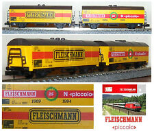 FLEISCHMANN Limited Edition N.2 CARRI MERCI GOODS-CAR 25° ANNIVERSARIO SCALA-N