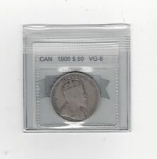 1906 Coin Mart Graded, Canadian, 50 Cent, **VG-8**
