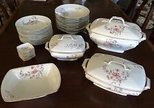 Delinieres & Co Limoges  D & Co Pattern: DE149 35 Piece Set