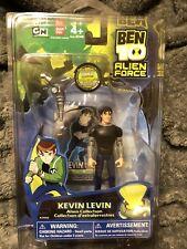 """Ben 10 Alien Force Kevin Levin 4"""" Alien Collection Figure Bandai 2008"""