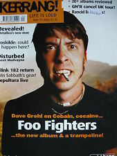 KERRANG 853 - FOO FIGHTERS/AKERCOCKE/ICARUS LINE/DISTURBED/MUDVAYNE/LAGWAGON