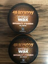2 X 150 ML FONEX GUMMY  BRIGHT FINISH HAIR WAX SWEET MELON +FREE P&P