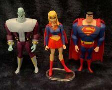 DC Universe Justice League Unlimited JLU Loose Superman Supergirl Brainiac Lot