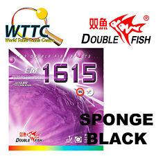 Double Fish 1615 Long Pimple Rubber With Sponge Black