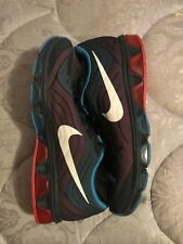 New Nike Air Max Tailwind  Navy blue/red/light blue size 12
