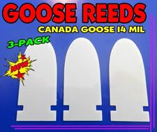 """Goose Reeds Mylar 14 Mil Canada Goose Reeds For """"Snap In"""" Style"""