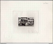 Mali PA226 Artist signed die proof. 1974 Trains