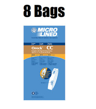 8 DVC Upright Vacuum Bags for Oreck XL CC Microlined