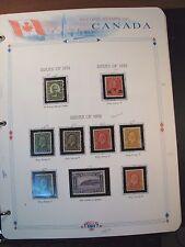 Canada Stamp Scott# 190,191,195-201 most MNH King George V etc 1931-32  C239
