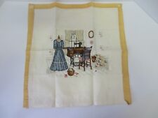 "Completed Cross Stitch ""The Upstairs Sewing Room"" by Paula Vaughan #8205"