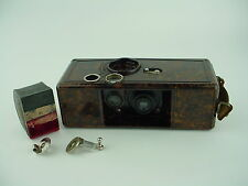 Q.R.S. DeVry Model K-1 35mm Brick Camera w/Bakelite Body 1928