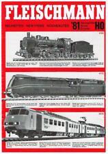 Fleischmann HO N gauge German Railways Neuheiten new catalogue NS Sprinter 1981
