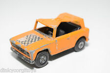 LESNEY MATCHBOX SUPERFAST FIELD CAR ORANGE GOOD CONDITION