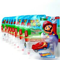 Super Mario Hot Wheels Character Cars Complete Set 2020 Edition