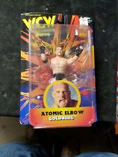 1998 Toymakers WCW Atom Elbow GOLDBERG Action FIgure New