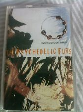 THE PSYCHEDELIC FURS - WORLD OUTSIDE -  cassette ALBUM LP tape