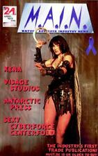 XENA COVER - M.A.I.N - 1st MATURE AUDIENCE INDUSTRY TRADE PUBLICATION 1996 - NEW