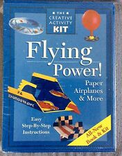 1998 Flying Power Paper Airplanes & More Step by Step Instructions Activity Kit