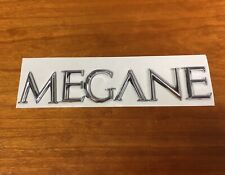 BRAND NEW RENAULT MEGANE II 2 REAR BADGE EMBLEM CHROME LOGO