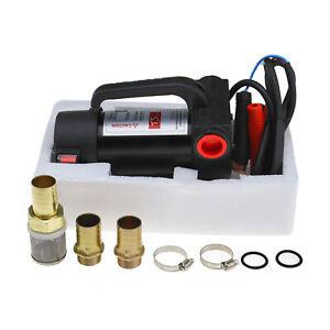 DC 12V 200W 42L/min DC Oil Dispensing Pump Diesel Fluid Extractor Electric Pump