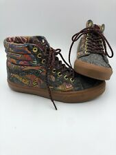 Vans Authentic OTW SK8-Hi Gallery Zio Ziegler Gumsole Men's 7 Women's 8.5 Eur 39