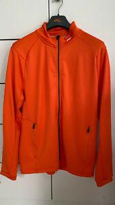 KJUS Funktionsjacke,Midlayer orange, Herren XL 54 NEU Outdoor Golf Training Ski