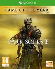 Dark Souls 3 The Fire Fades (Xbox One) BRAND NEW SEALED PAL
